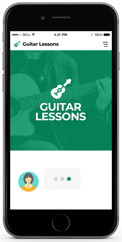 Guitar Lessons Chatbot