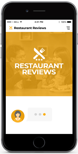 Chatbot In Restaurant