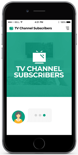 Get More TV Channel Subscribers