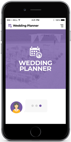 wedding chatbot examples